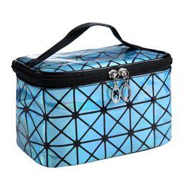 $enCountryForm.capitalKeyWord UK - New PU Leather Waterproof Women Makeup bag Cosmetic bag Case Travel Make Up Toiletry Organizer Storage pouch set box