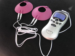 Electric Shock Gear Shocking Sex Australia - BDSM Electric Shock Pink Breast Therapy Massage Cups Pad Stimulation Teaser Electroshock Bondage Gear Erotic Adult Sex Toys for Women
