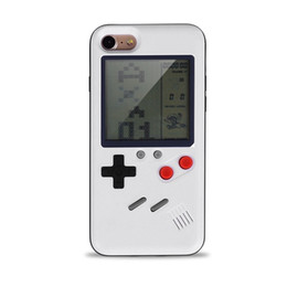 Chinese  Mini Handheld Game Consoles Portable Retro Mini Game Console hpone case Silica gel protective sleeve For ipone6 6S 7 7S 8 8PLUS X manufacturers