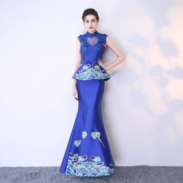 47ca13ea1773 Oriental evening dresses online shopping - 2018 Modern Cheongsam Sexy Qipao  Women Long Traditional Chinese Dresses