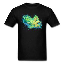 $enCountryForm.capitalKeyWord UK - Vivid Free Eagle Abstract Tshirt Watercolor Painting Graphic Men T Shirts 2018 New Arrival Fashion Casual Top T-shirt Summer