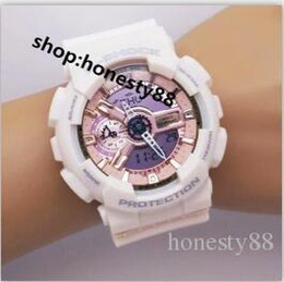 Relógios coloridos esportes impermeável Design de moda Caminhadas relógios digitais com várias cores para meninos e meninas G0050 em Promoção