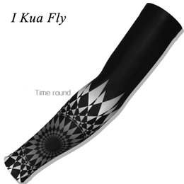 Lycra Sports NZ - New Cycling Arm Warmers Men Women Basketball Sleeve Running Arm Sleeve Bicycle warmers Camping Summer Sports Safety z4