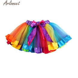 $enCountryForm.capitalKeyWord UK - ARLONEET 20017 Girls Kids Petticoat Rainbow Pettiskirt Bowknot Skirt Tutu Dress Dancewear P30 Nov01
