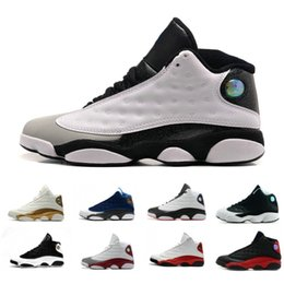 08c04f3140fcb4 Wholesale 13 OG Mens Basketball Shoes XIII Altitude Wheat Bred DMP Chicago  black cat 13s trainers Sports Snerkers size 8
