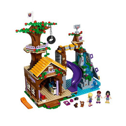Toys Bricks Australia - wholesale 10493 Legoing Friends Princess The Adventure Camp Rafting 325Pcs Building Blocks Brick Toys For Children Set Legoing 41121