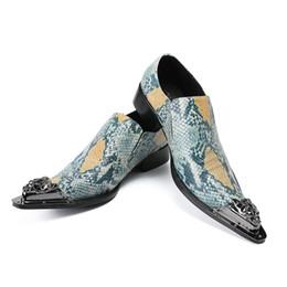 Men Alligators Shoes NZ - Oxfords Alligator Crocodile Leather Shoes Men Fashion Lace-Up Dress Shoes Business Style Wedding Shoes
