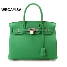Discount nude color leather handbag - Free Shipping EMS 2017 new fashion High quality women's leather handbag women's shoulder bag Messenger bag Top