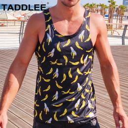 ba3996134bdb Taddlee Brand New Mens Bodybuilding Tank Top Stringer Men Sport Fitness  Singlet Vest Clothes Tee Shirt Sleeveless Muscle Hip Hop