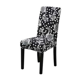 Dreamworld Printed Chair Covers Spandex Elastic Cover For Weddings Computer Office Stretch Seat China Dining Room