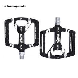 Cycle Pedals Mountain Australia - SHANMASHI Paired DU Bearing Outdoor Cycling Road Mountain Bicycle Pedal Ultralight Water Resistance Bike Pedal Bicycle Part Free Shipping VB