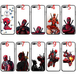 Cool Cases For Iphone 5s Australia - 3D Super Cool Marvel Deadpool Soft Black TPU Phone Case for iPhone XS Max XR 6 6s 7 8 Plus 5 5s SE Cover
