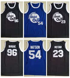 shooting jersey 2019 - Mens Tournament Shoot Out Birdmen 23 Motaw 96 Birdie 54 Kyle Watson Basketball Jersey Cheap Above The Rim Moive Stitched