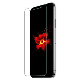 Chinese  For iPhone New XS Max XR X XS 8 7 6 6S 5 5S SE Tempered Glass Screen Protector for iPhone 6S Plus Samsung S6 S7 screen clear film protection manufacturers