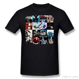 $enCountryForm.capitalKeyWord UK - Rock Heavy Metal Style U2 Achtung Baby T-Shirts Men's Shirts Men Clothes Novelty Cool
