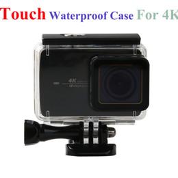 $enCountryForm.capitalKeyWord Australia - camera housing XiaoMi 4K 4k+Touch Case Sport Action Camera Waterproof Housing Box For XiaoMi Yi 2 II Xiao Yi