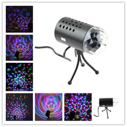 $enCountryForm.capitalKeyWord Australia - 3W Full Color LED Voice-activated Rotating Lamp RGB Crystal Magic Ball Laser Stage Light DJ KTV LED Effects Disco Lamp Bulbs Auto Rotating