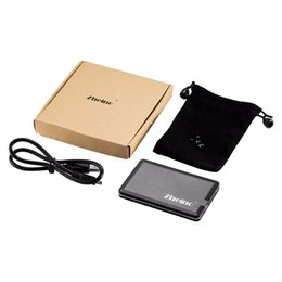 usb pouches NZ - Wholesale-Zheino USB 2.0 1.8 inch ZIF CE HDD Case 40Pin External Hard Drive Enclosure Case Box with Travel Pouch