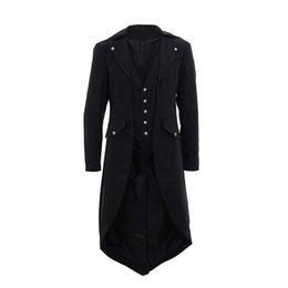 Dos nu homme Steampunk Gothic Tuxedo Frock