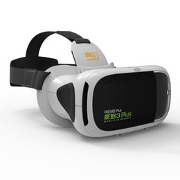 China RITECH 3 Plus III Video VR 3D Glasses Virtual Reality Box Headset HD Immersive 3D Helmet Cardboard for 4.7-6 inches Smartphone supplier virtual reality 3d video suppliers