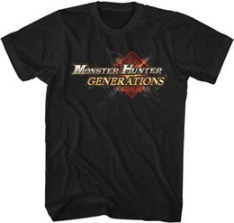 Video game generation online shopping - Monster Hunter Generations Logo Capcom Video Game Adult T Shirt