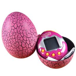 Tamagotchi Tumbler Toy Electronic Game Pet Children Birthday Gift Dinosaur Egg Virtual Pets On A Keychain Digital Novelty