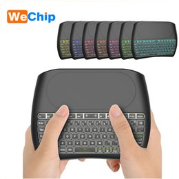 $enCountryForm.capitalKeyWord NZ - Mini Keyboard D8 S 2.4G Wireless Air Mouse With 4.1 in Touchpad Backlight Controller For Box Computer Smart TV PK I8 Keyboard