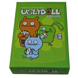 ugly toys 2019 - Free shipping Ugly Doll board game card lovely Stupid Meng High quality Chinese and English version child Puzzle board g