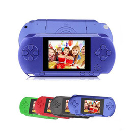 Discount pxp3 16 bit New sell handheld game console 16 Bit Video Game Player PXP3 PXP Slim Station Game Card Christmas gifts
