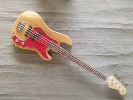 China Shelly new store factory custom Jazz natural Ash body bass 4 string precision electric bass guitar musical instrument shop supplier body jazz bass suppliers