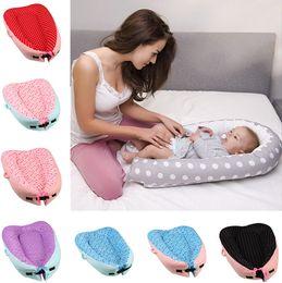 16 couleurs bébé sac de bébé Snuggle lit bébé siège portatif multi-fonction sommeil bébé amovible et lavable pouf 40 pcs T1G119 en Solde