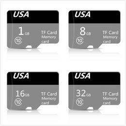 $enCountryForm.capitalKeyWord NZ - Genuine Capacity DZ New Micro FLash Memory Card Class 10 TF FULL CAPACITY 32GB 16GB 8GB 1GB