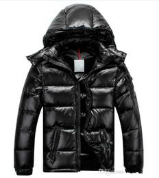 Мужчины женщины классический бренд повседневная пуховик Мужские пуховики Женские открытый меховой воротник теплый унисекс зима теплая пальто и пиджаки парки S-3XL