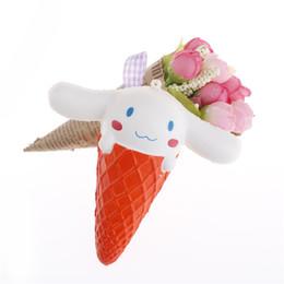 Panda gifts online shopping - Squishy cm Panda Bear Bread Cake Scented Pendant Straps Kid Fun Toy Gift Cute Squishy Animal Ice Cream Slow Rising