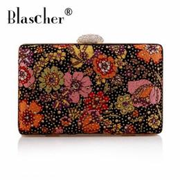 836bdb943c88 Blascher Best Price Diamond Evening bags High Grade Full Rhinestone Dinner Bag  Female Wedding Clutch Purses Party Handbags SCA90