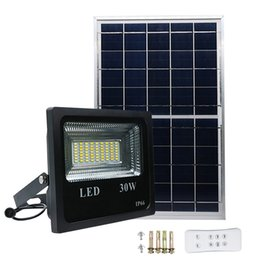 Wholesale Edison2011 W W Solar Light with mode Controller Double Color Solar Floodlight Spotlight Waterproof for Garden Yard Wall Lamp