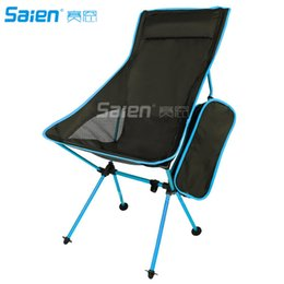 lightweight camp chairs NZ - Lightweight Portable Chair Outdoor Folding Backpacking Camping Lounge Chairs For Sports Picnic Beach Hiking Fishing