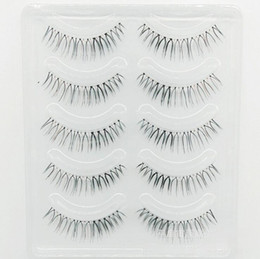 HigH quality syntHetic eyelasHes online shopping - 3D Mink Hair False Eyelashes Natural Handmade Beauty Thick Long Soft Brown and Blac Mink Lashes Fake Eye Lashes Eyelash Sexy High Quality