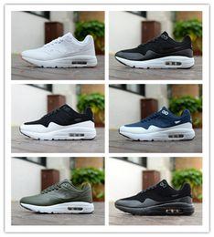 huge discount df95a adcb2 Hohe Qualität Maxes 1 Premium SC Sneaker ULTRA MOIRE Männer und Frauen  Laufschuhe Triple Black   University rot
