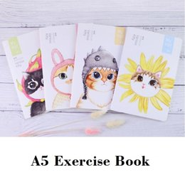 $enCountryForm.capitalKeyWord Canada - A5 Exercise Book for Students Cute Cats School NotLibretas y cuadernos Creativos 210*142mm, 44 sheets  88 pages
