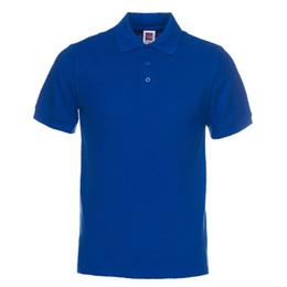 $enCountryForm.capitalKeyWord NZ - Men Polo Shirt Brand Mens Solid Color Polo Shirts Camisa Masculina Men 'S Casual Cotton Short Sleeve Polos Hombre Jerseys Designer Polo