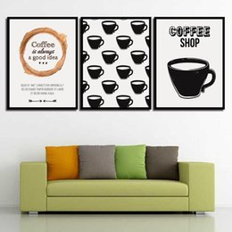 Art Canvas Prints Australia - Poster Canvas Wall Art Paintings Coffee Shop Abstract Pritable Minimalist Color Pop Print Pictures Living Room Home Decoration