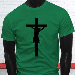 $enCountryForm.capitalKeyWord Australia - LOVE JESUS CROSS RELIGION CHURCH CHRISTIAN ART Mens Green T-Shirt Funny free shipping Unisex Casual gift