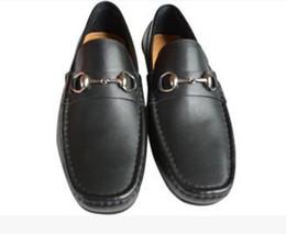 $enCountryForm.capitalKeyWord UK - Soft Leather men leisure dress shoe part gift doug shoes Metal Buckle Slip-on Famous brand man lazy falts Loafers Zapatos Hombre 38-43