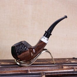 2018 ebony models Ebony pipes, solid wood, handcrank handles, pipes, smoking accessories, new models. discount ebony models