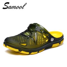 Home Slippers Men flip flops Mens Sandles jelly Beach Water Upstream Summer  Male Beach Flat Heel Shoes Chaussure Homme xxz5 f54a1a5f69f9
