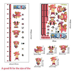Wholesale Home height measurement cartoon stickers anytime anywhere to measure the baby s height to make the walls more beautiful