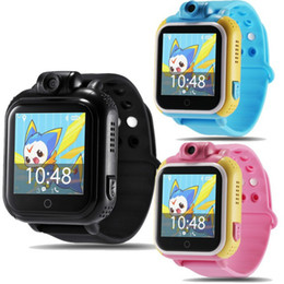 3g Camera Android Australia - 720P Camera Kids Wristwatch Q730 JM13 3G GPRS GPS Locator Tracker Smart watch Baby Watch With Camera For I-OS Android Phone PK Q50
