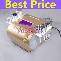 Machine de radiofréquence de cavitation de Microcurrent de la micro-courant 7in1 d'eu taxe libre Liposuccion ultrasonique de 40k Multi-polar de minceur liposuccion de vaccin en Solde