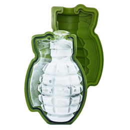 $enCountryForm.capitalKeyWord UK - Hot Selling 3D Grenade Shape Ice Cube Mold Ice Cream Maker Cake Mould Party Drinks Silicone Trays Molds Kitchen Bar Tools Top Quality